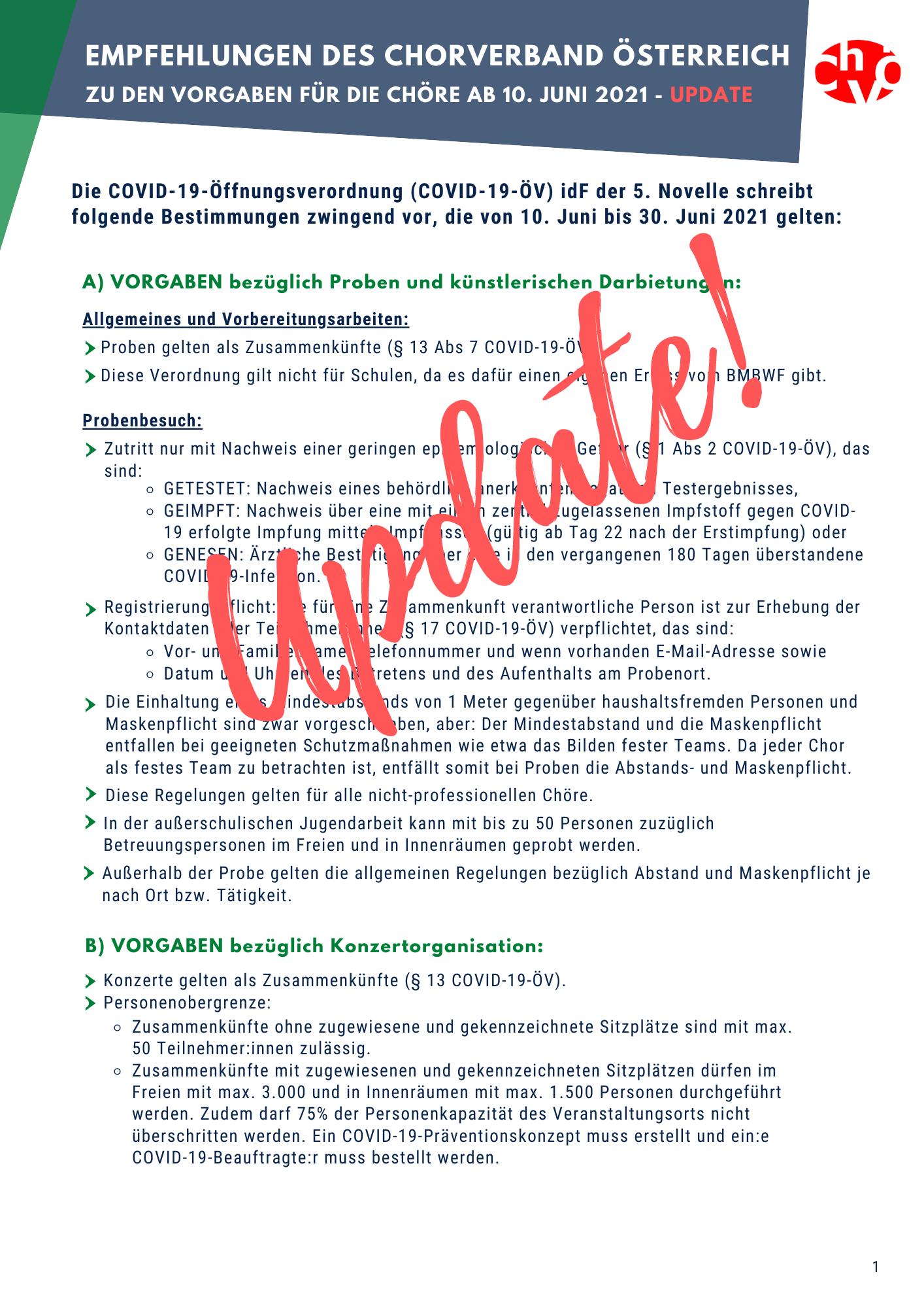 Update Empfehlungen 10 Juni 2021 inkl nd