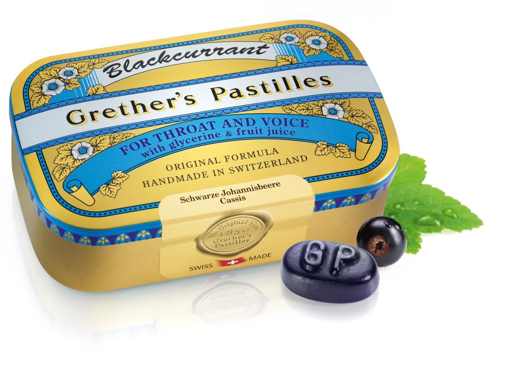 Medium Grethers Blackcurrant 110g DE FR PhC0688835