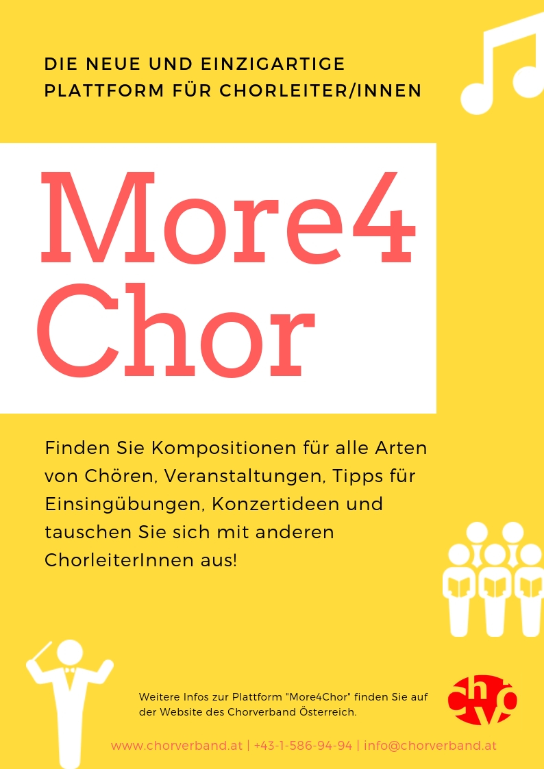 More4Chor Flyer