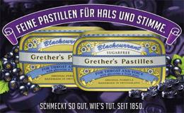 Grether's Pastilles - Eine Wohltat für Hals und Stimme